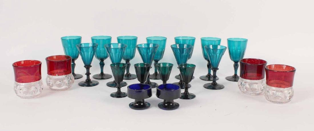 Assorted Glass Stemware and Tumbler Glasses