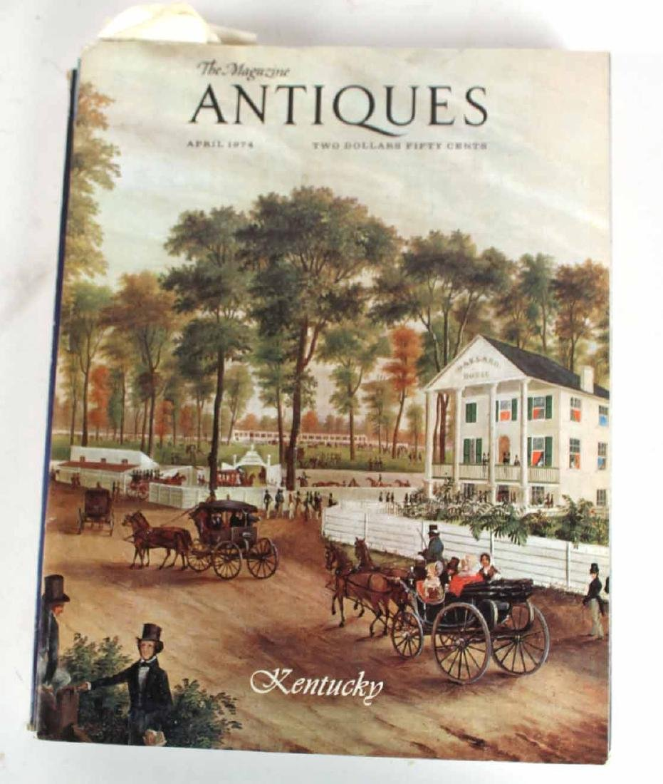 """Collection of Bound """"Antiques"""" Magazines - 3"""