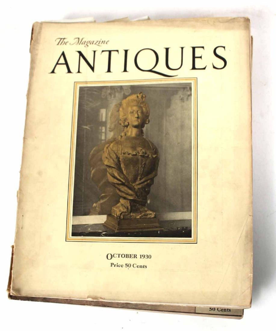 """Collection of Bound """"Antiques"""" Magazines - 4"""