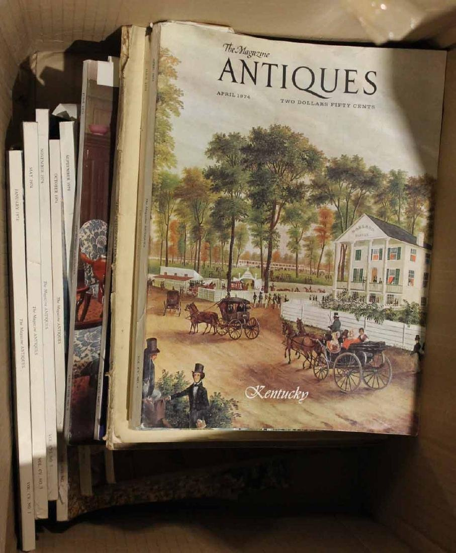 """Collection of Bound """"Antiques"""" Magazines - 8"""