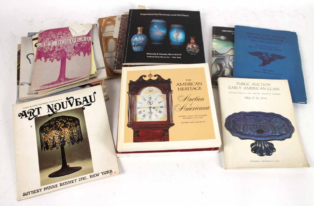 Large Collection of Auction Catalogs