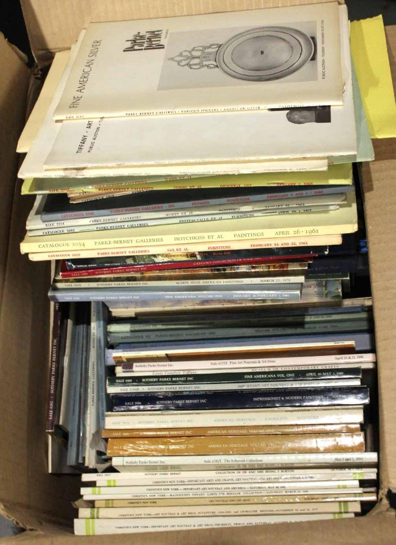 Large Collection of Auction Catalogs - 6