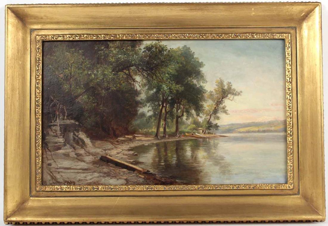 Oil on Canvas, Benjamin Champney, Lake