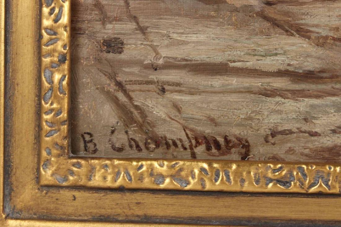 Oil on Canvas, Benjamin Champney, Lake - 3