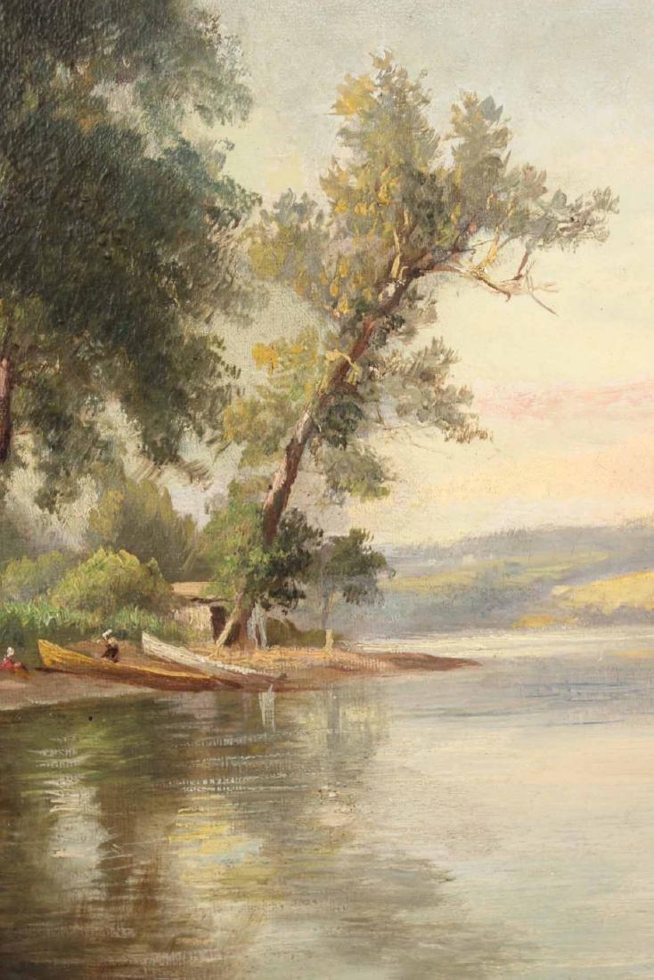 Oil on Canvas, Benjamin Champney, Lake - 4