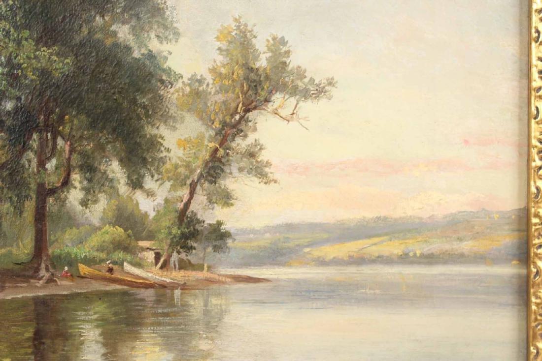 Oil on Canvas, Benjamin Champney, Lake - 5