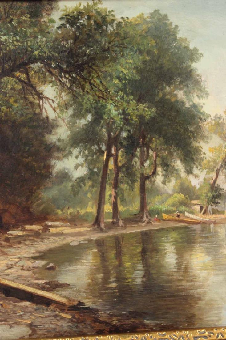 Oil on Canvas, Benjamin Champney, Lake - 6
