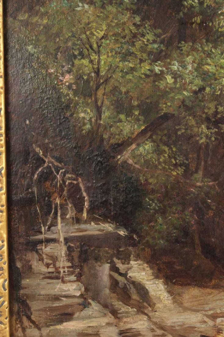 Oil on Canvas, Benjamin Champney, Lake - 7