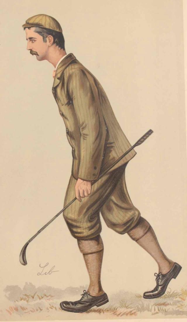 Lithograph, Vanity Fair, John Ball Golfer - 2