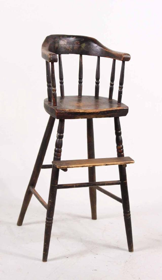 Maple Windsor Child's High Chair
