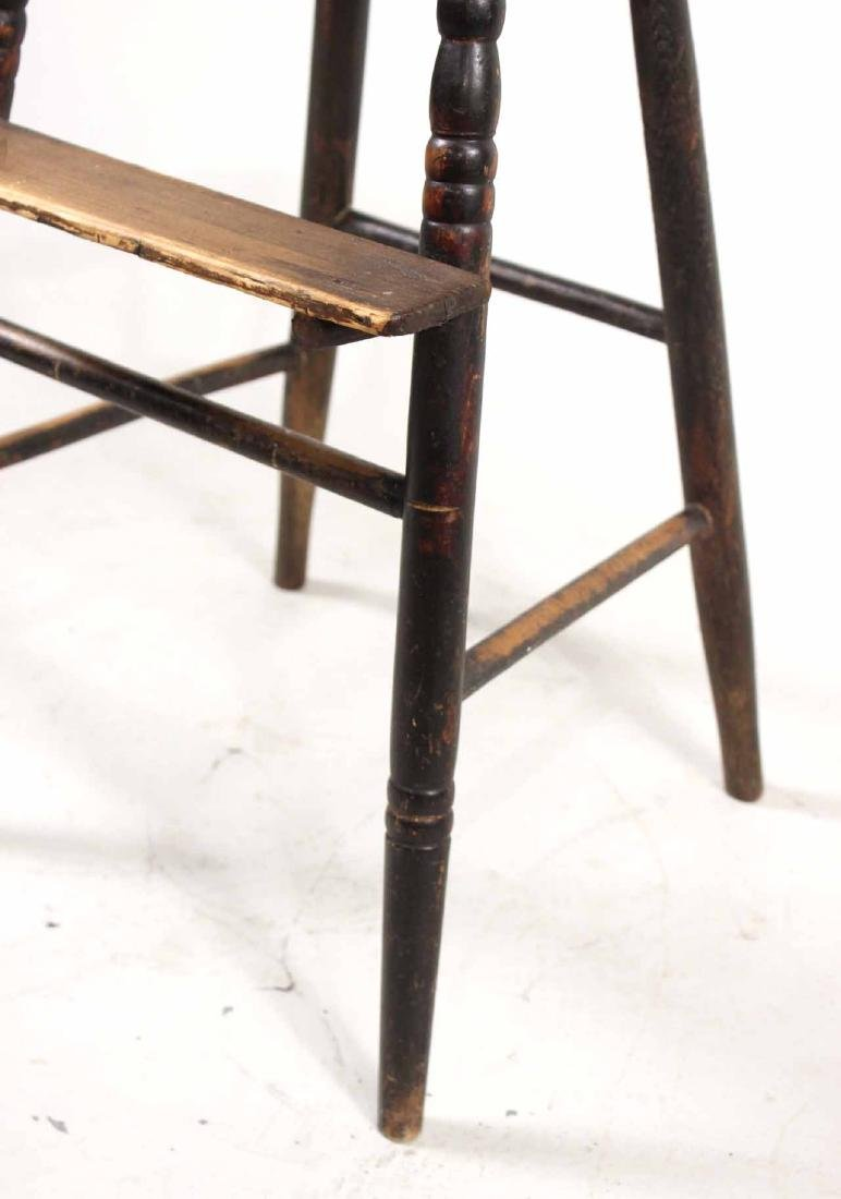 Maple Windsor Child's High Chair - 5