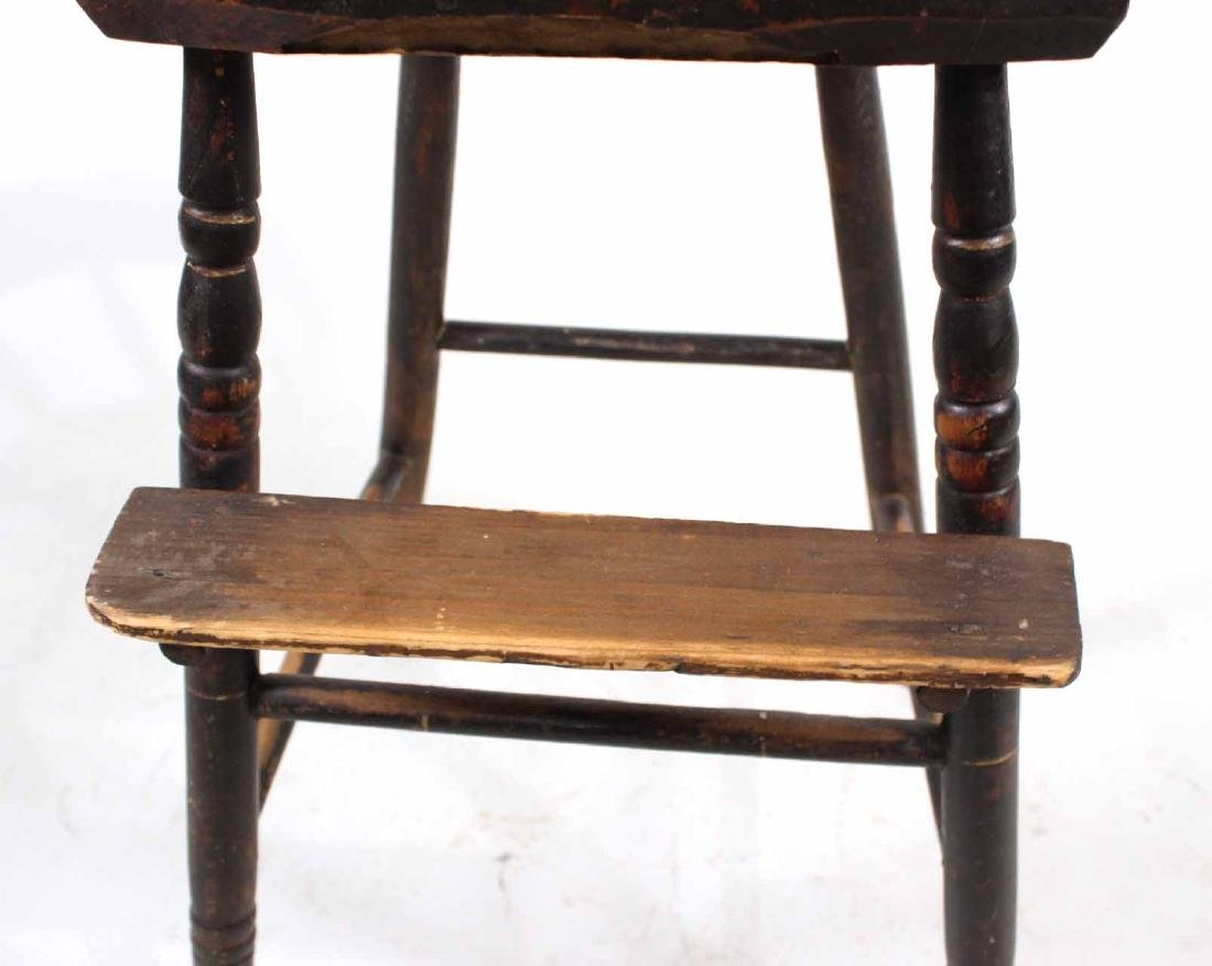 Maple Windsor Child's High Chair - 6