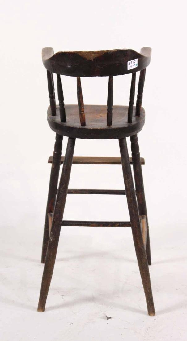 Maple Windsor Child's High Chair - 7