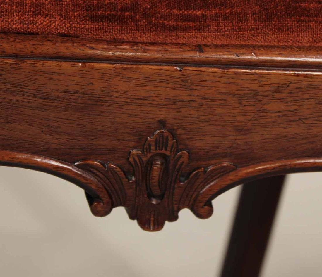 Near Pair of Chippendale Mahogany Side Chairs - 5