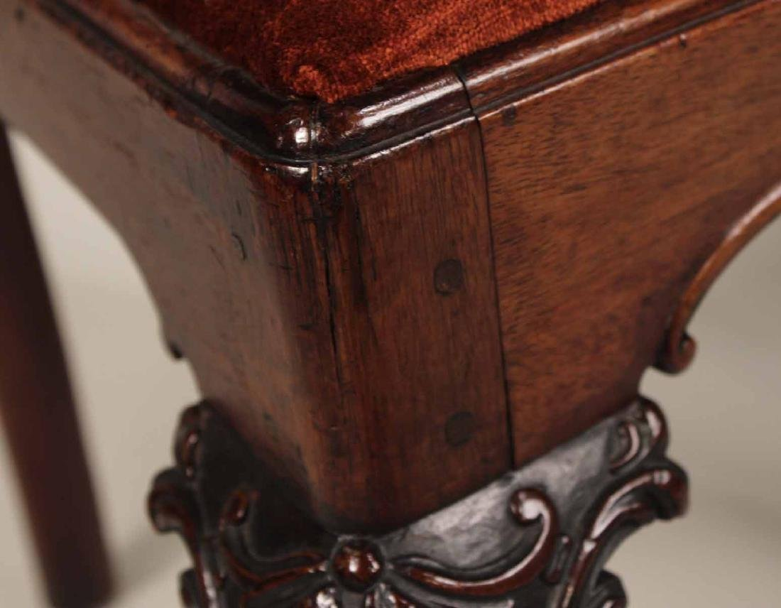 Near Pair of Chippendale Mahogany Side Chairs - 6