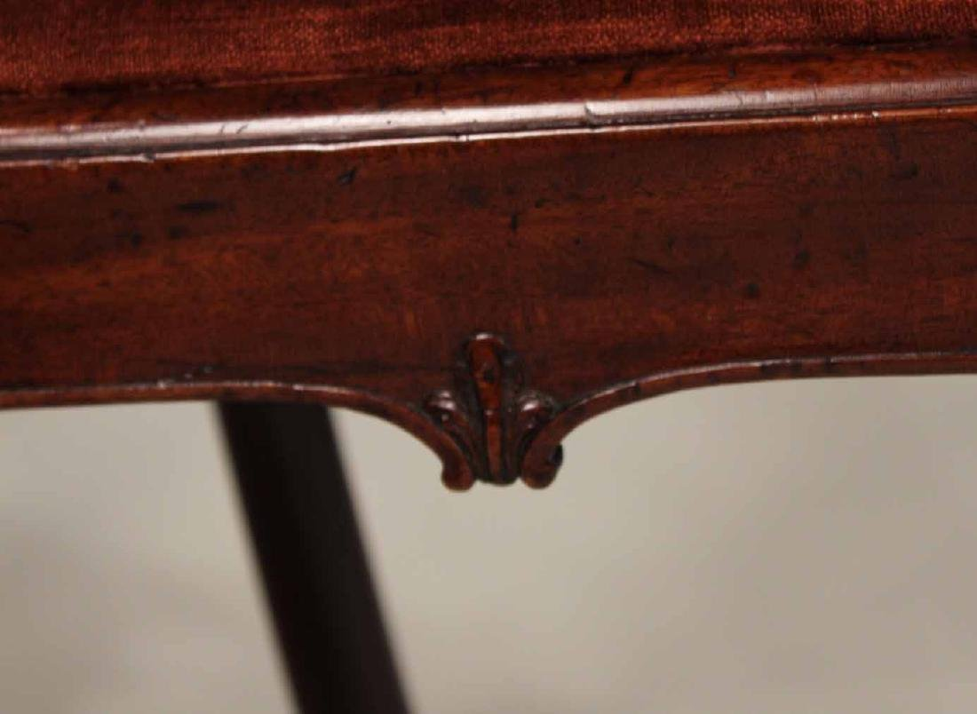 Near Pair of Chippendale Mahogany Side Chairs - 8
