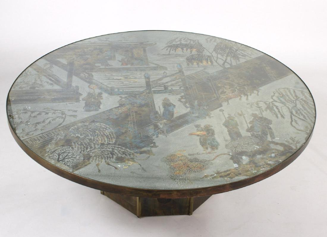 Philip and Kelvin LaVerne Bronze Table - 2