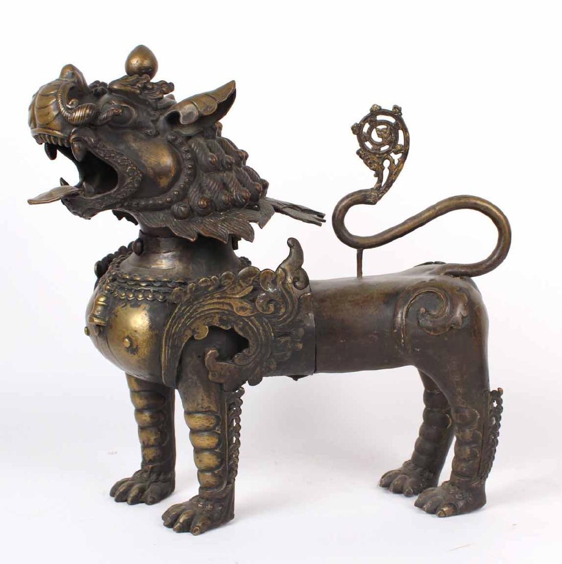 Large Bronze Foo Dog