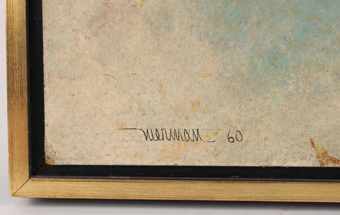 Oil on Board, Leonardo Nierman, Abstract - 3