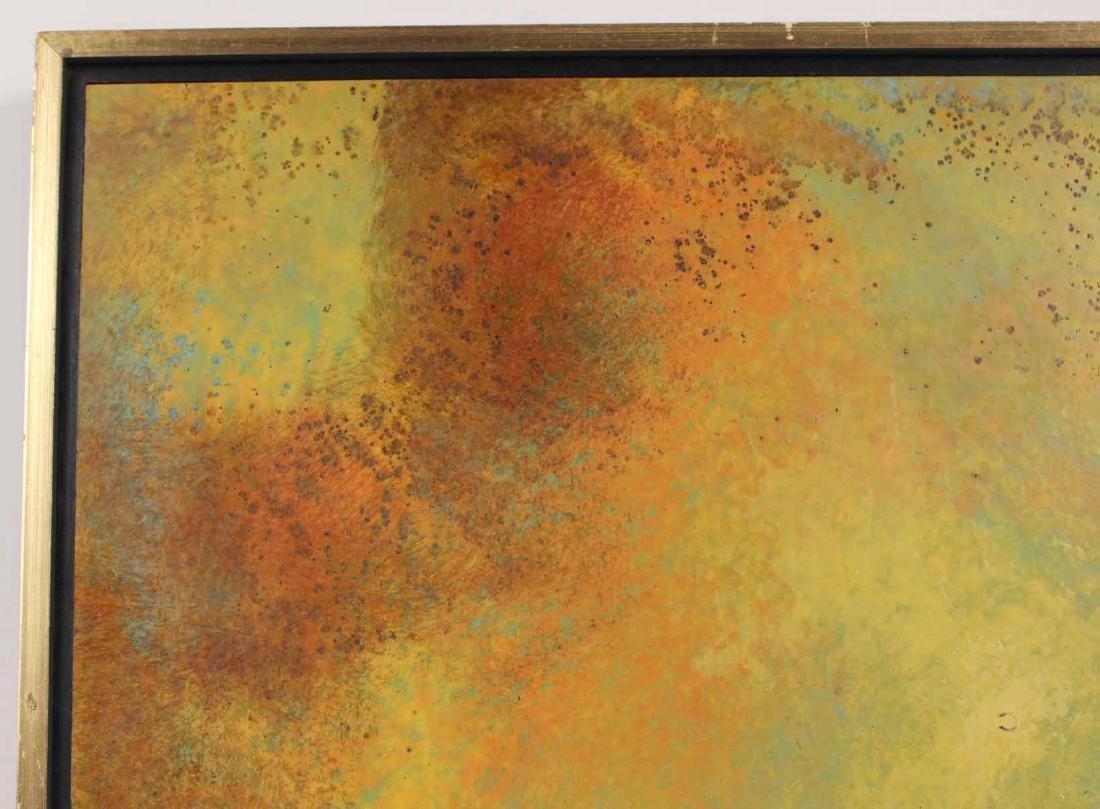 Oil on Board, Leonardo Nierman, Abstract - 4