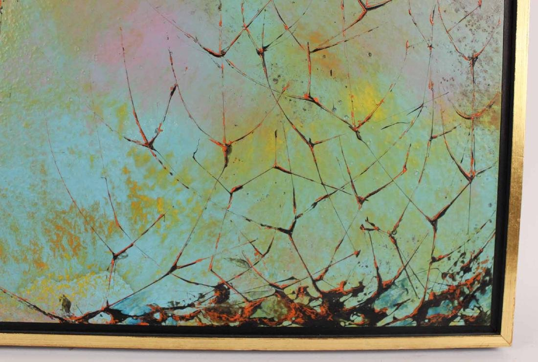 Oil on Board, Leonardo Nierman, Abstract - 5
