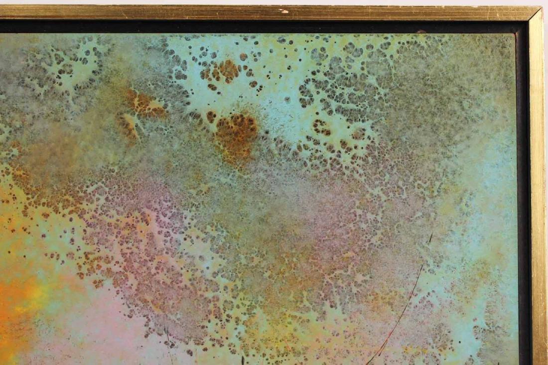 Oil on Board, Leonardo Nierman, Abstract - 6