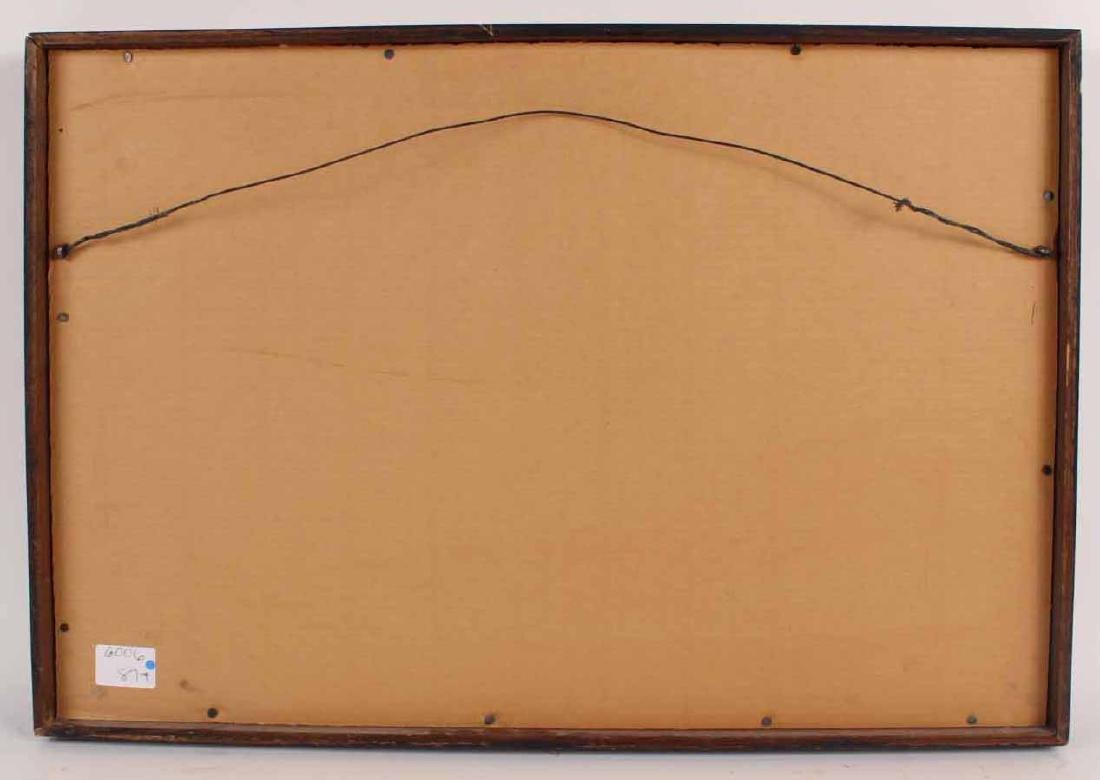 Oil on Board, Leonardo Nierman, Abstract - 7