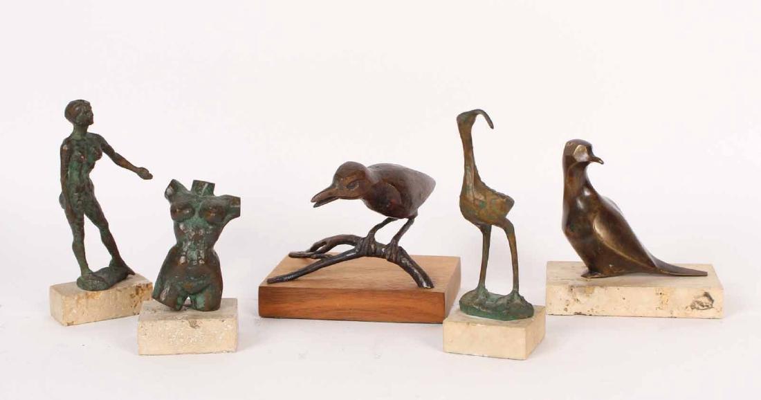 Five Bronze Sculptures by Bradley