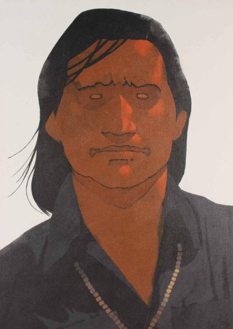 Oil on Canvas, Louis De Mayo, Native American - 2