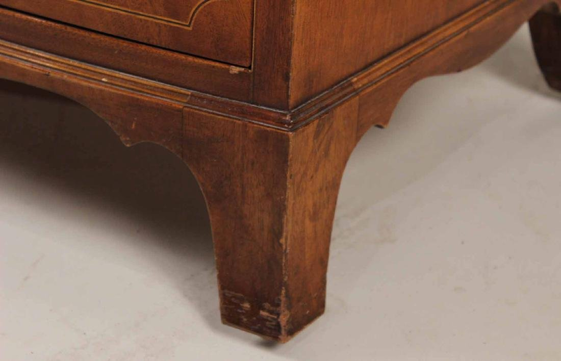 Federal Style Mahogany Bow Front Chest - 3