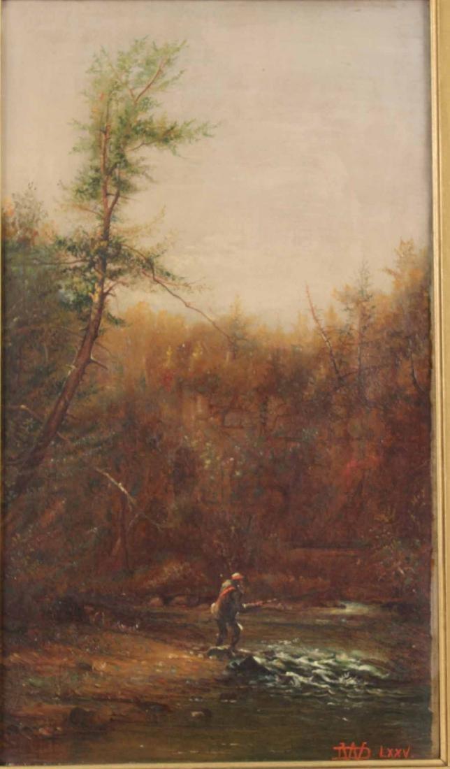 Oil on Canvas, Fisherman, Dwight Williams - 2