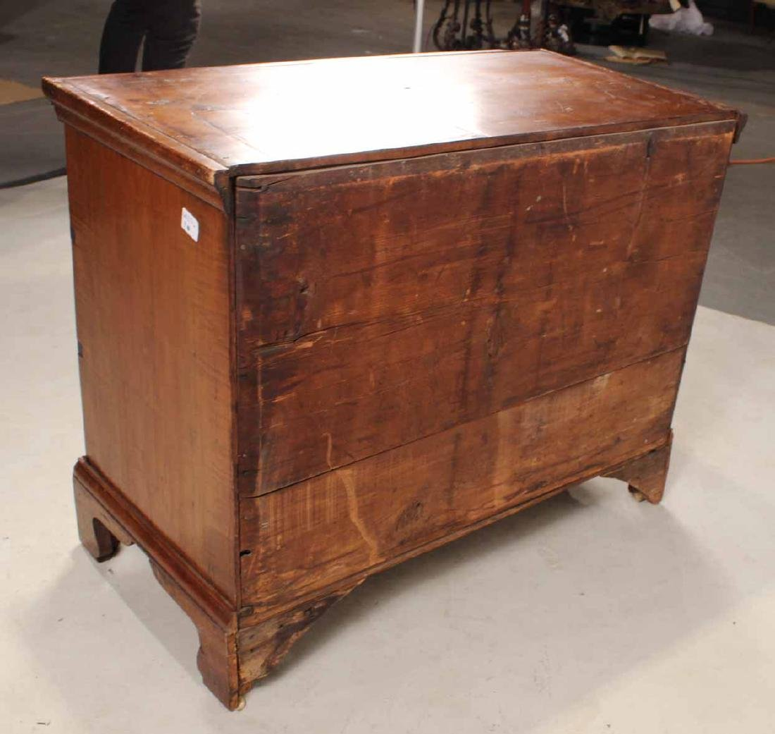 Chippendale Maple Chest of Drawers - 7