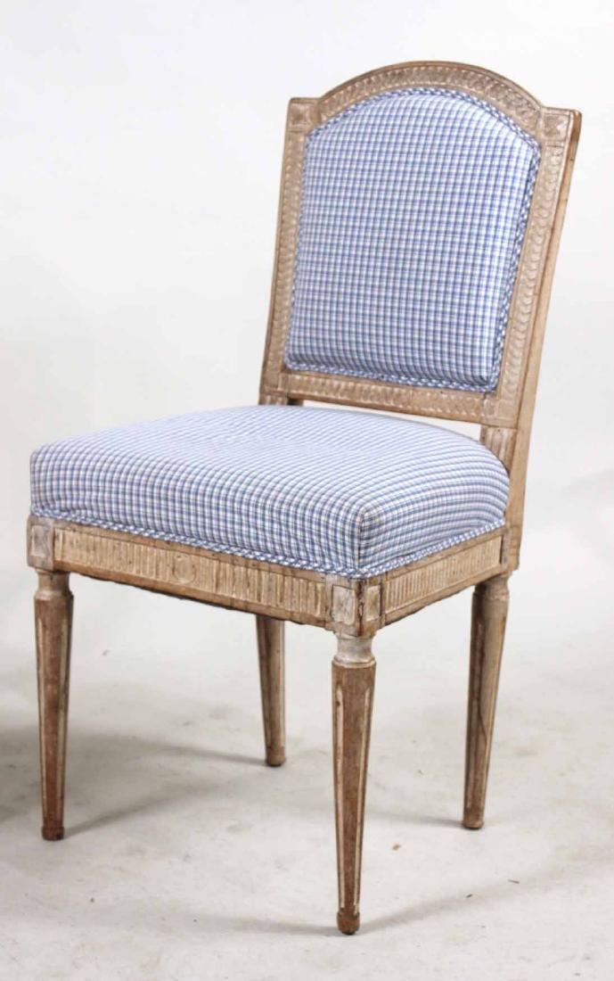 Louis XVI Carved Beechwood Side Chair - 2