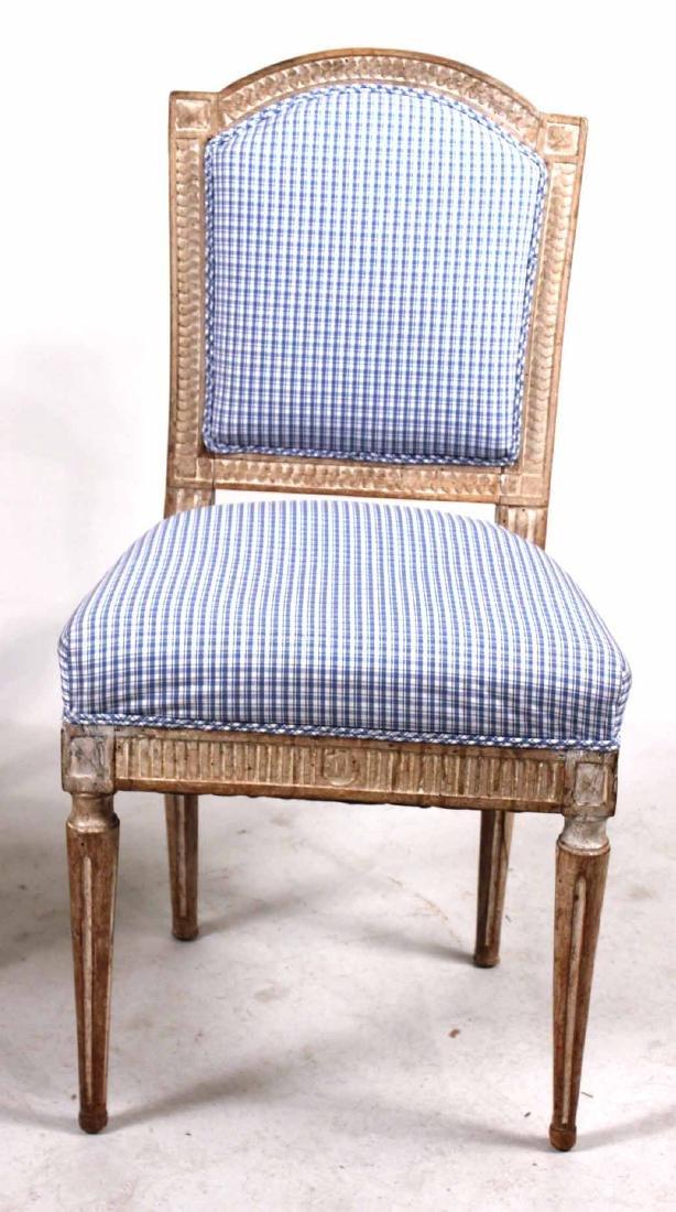 Louis XVI Carved Beechwood Side Chair - 5