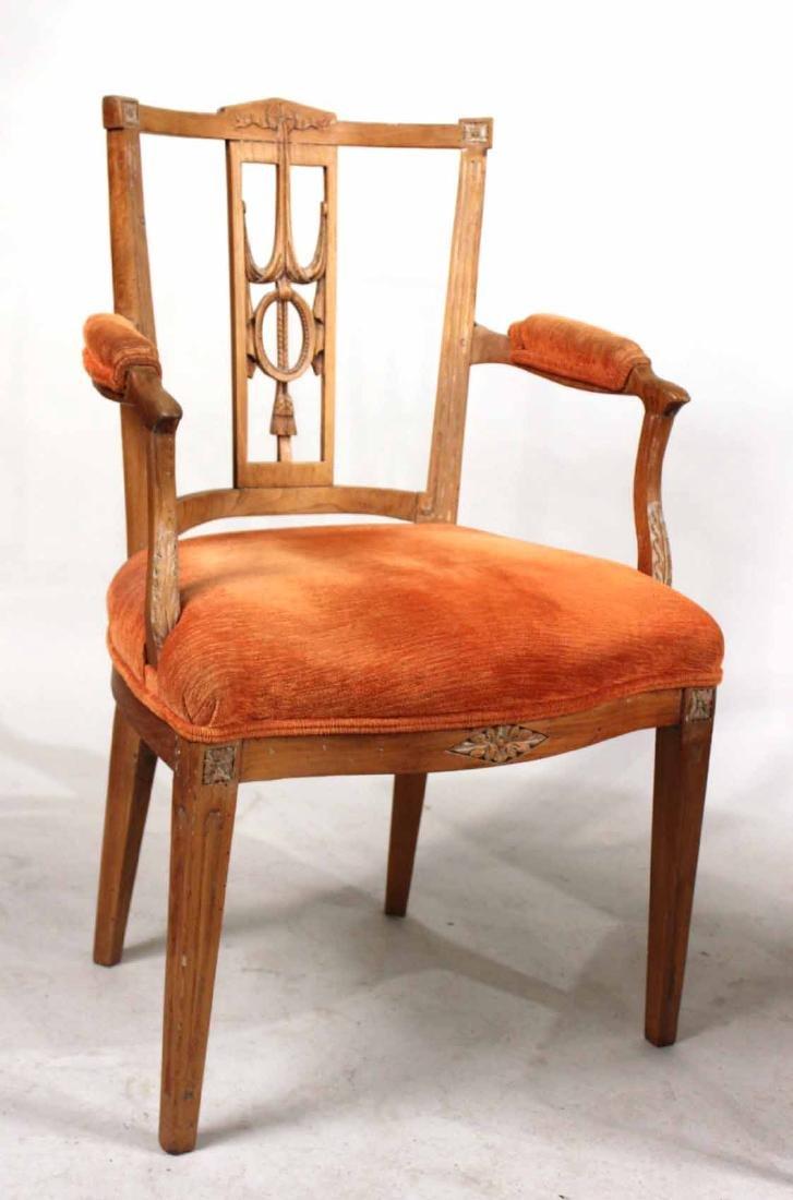 Louis XVI Carved Beechwood Side Chair - 6