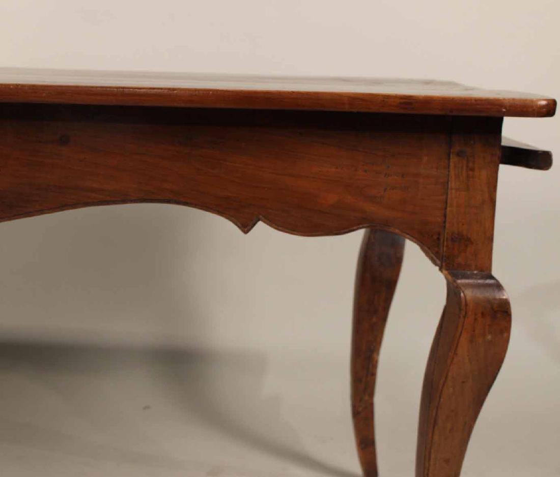Louis XV Provincial Walnut Center Table - 3
