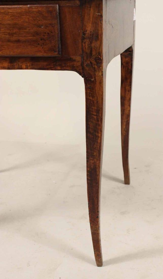 Louis XV Walnut One-Drawer Stand - 3
