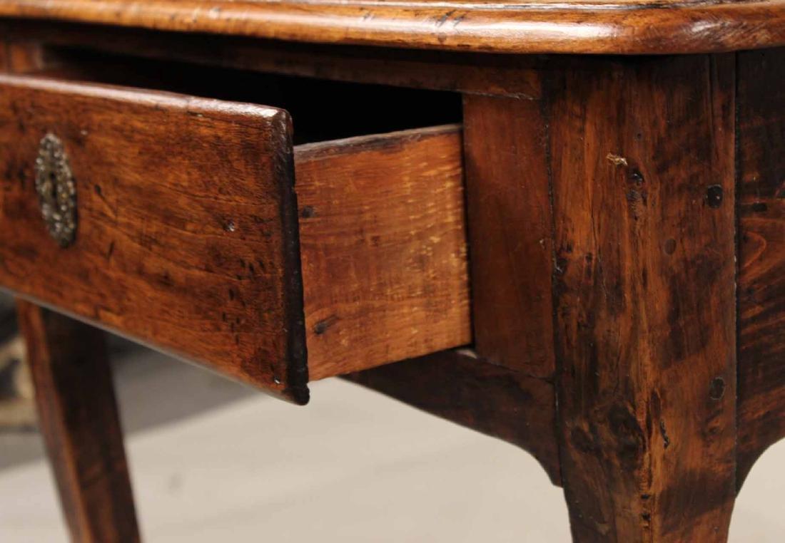 Louis XV Walnut One-Drawer Stand - 5