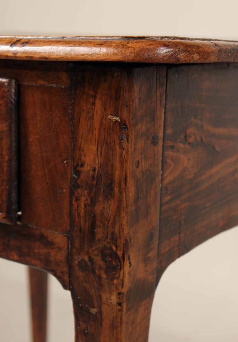 Louis XV Walnut One-Drawer Stand - 6