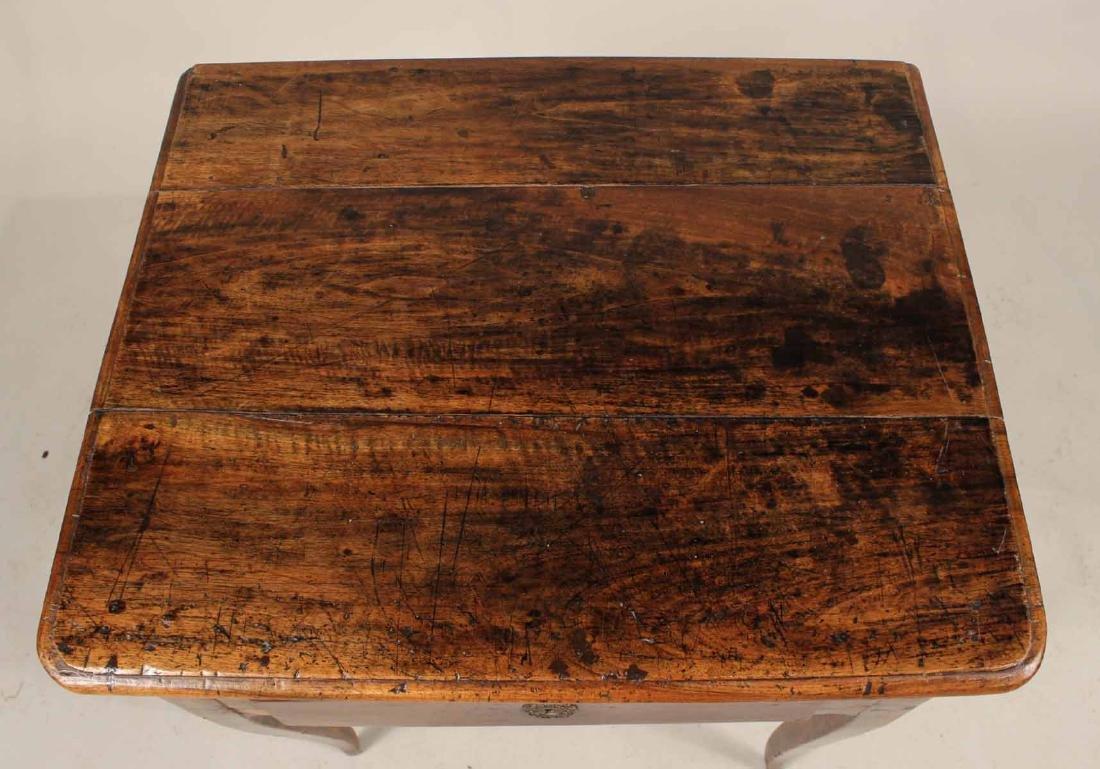 Louis XV Walnut One-Drawer Stand - 7