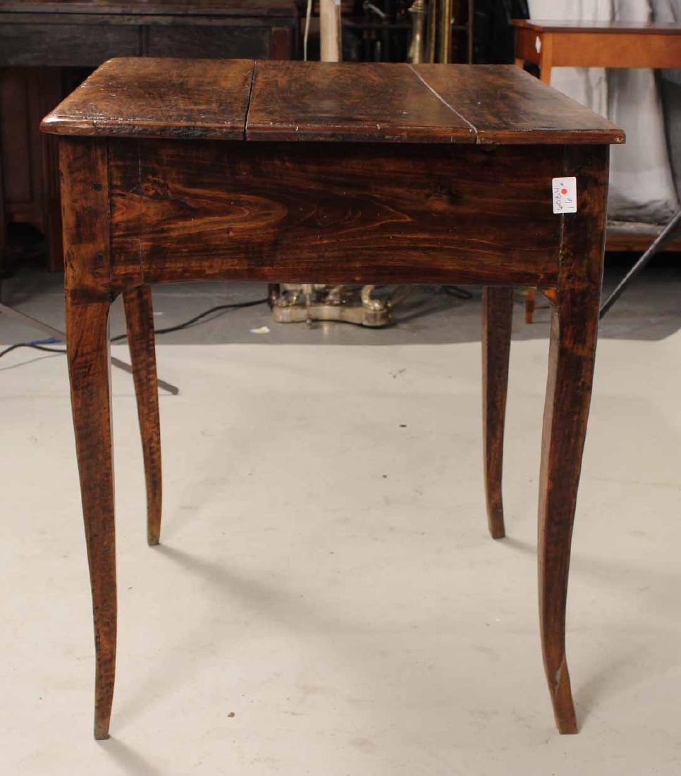 Louis XV Walnut One-Drawer Stand - 8