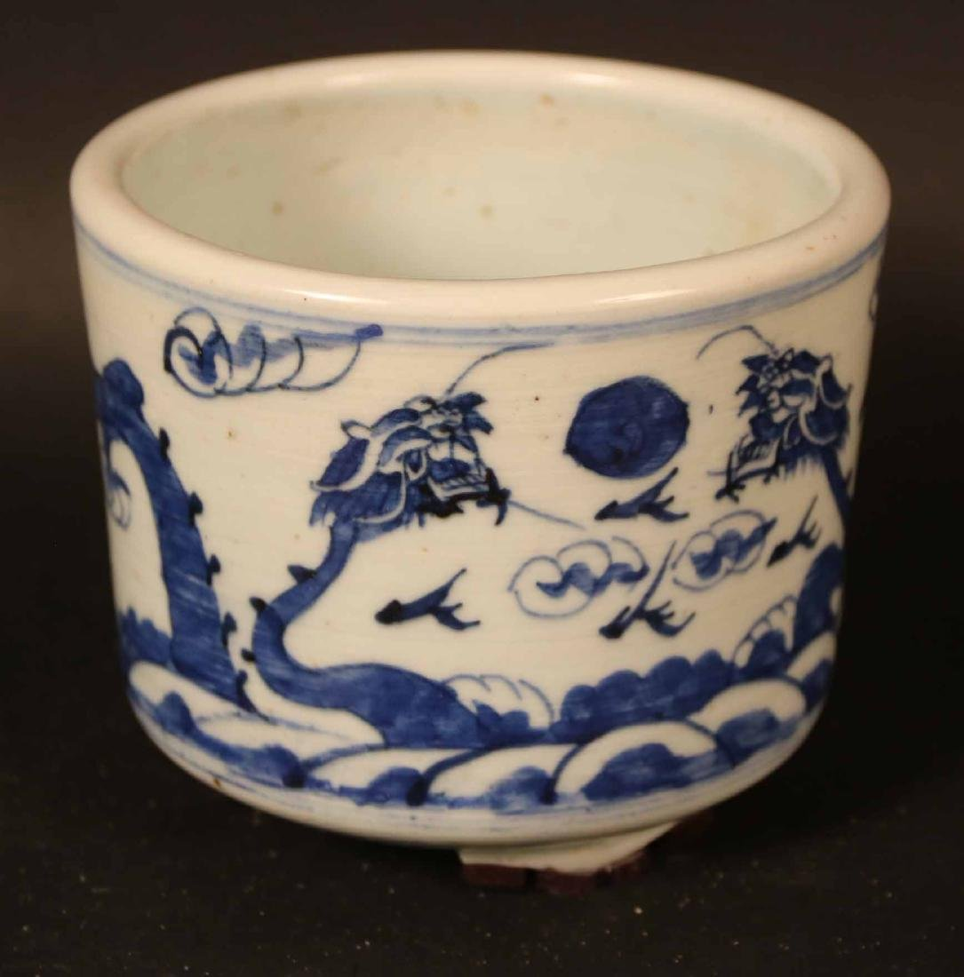Two Chinese Blue and White Porcelain Bowls - 8