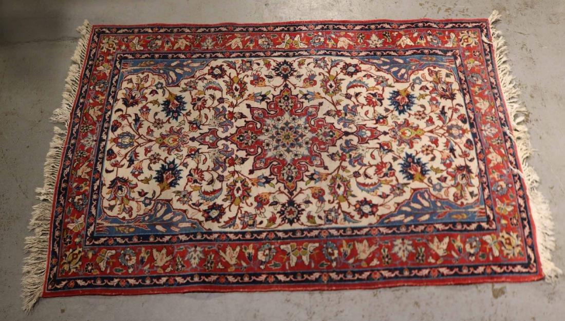 Tabriz Style Throw Rug