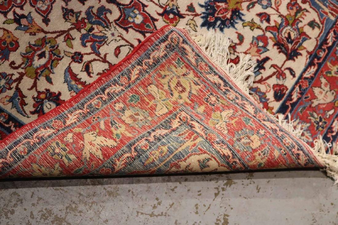 Tabriz Style Throw Rug - 4