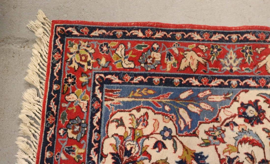 Tabriz Style Throw Rug - 5