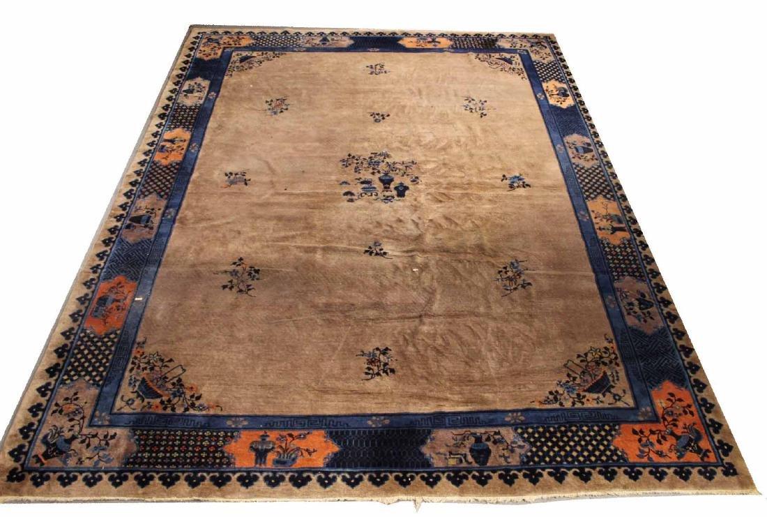 Art Deco Style Chinese Carpet