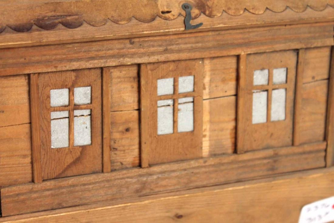Carved Wood Noah's Ark Toy - 9