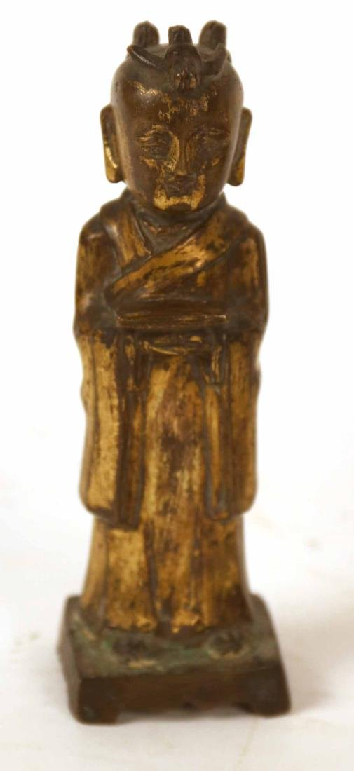 Three Chinese Bronze Sculptures - 2
