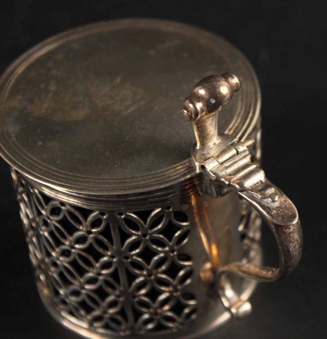 George III Silver Mustard Pot - 2