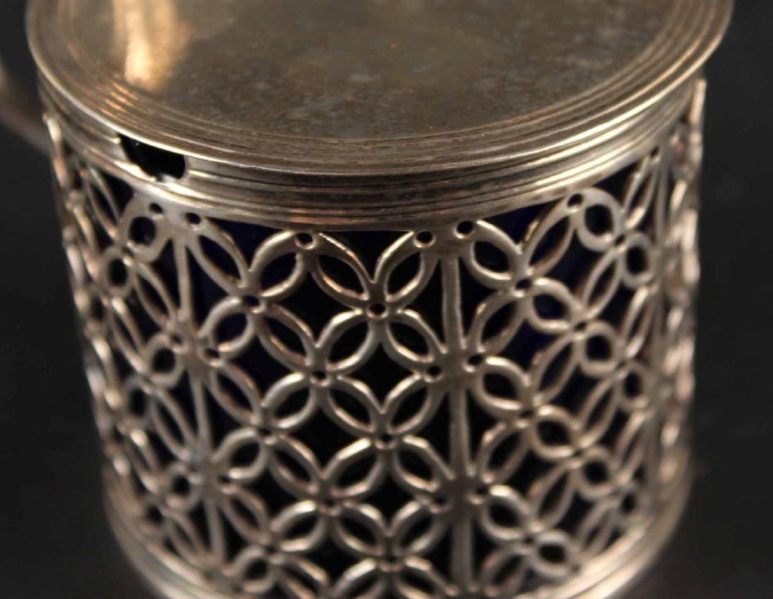 George III Silver Mustard Pot - 6